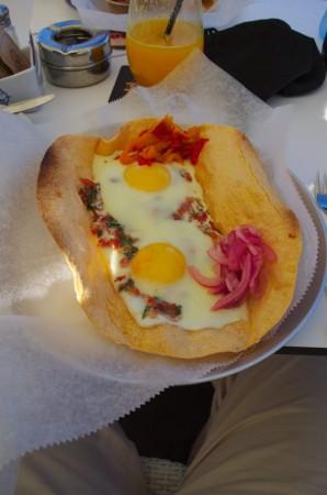Snídaně v tel Avivu
