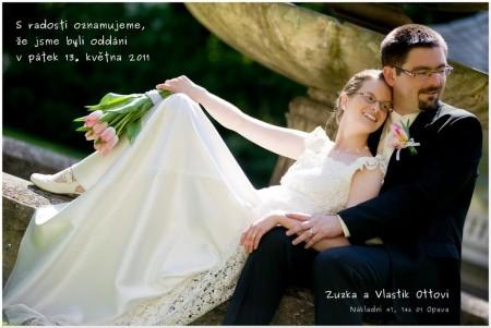 Oznámení o sňatku