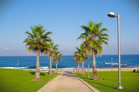 Pláž v Jaffě (Tel Aviv) - Středozemní moře
