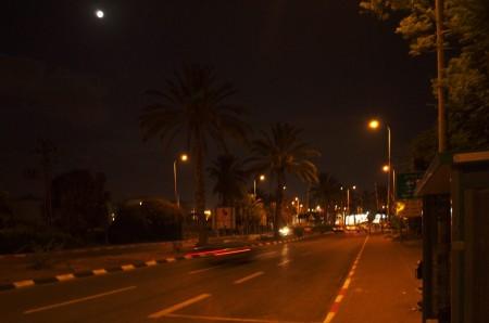 Zastávka za letištěm Tel Aviv