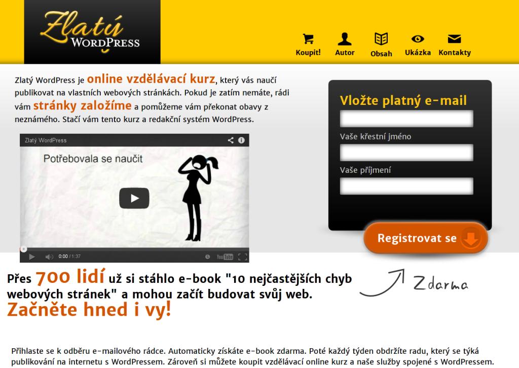 Zlatý WordPress v prosinci 2013