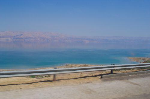 Přijeli jsme k Mrtvému moři