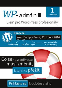 Obálka WP-admin 01/2014