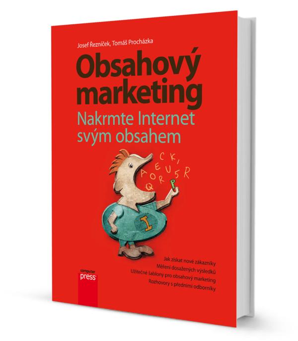 Obálka knihy o obsahovém marketingu
