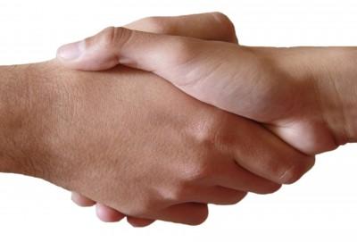 Potřesení rukama