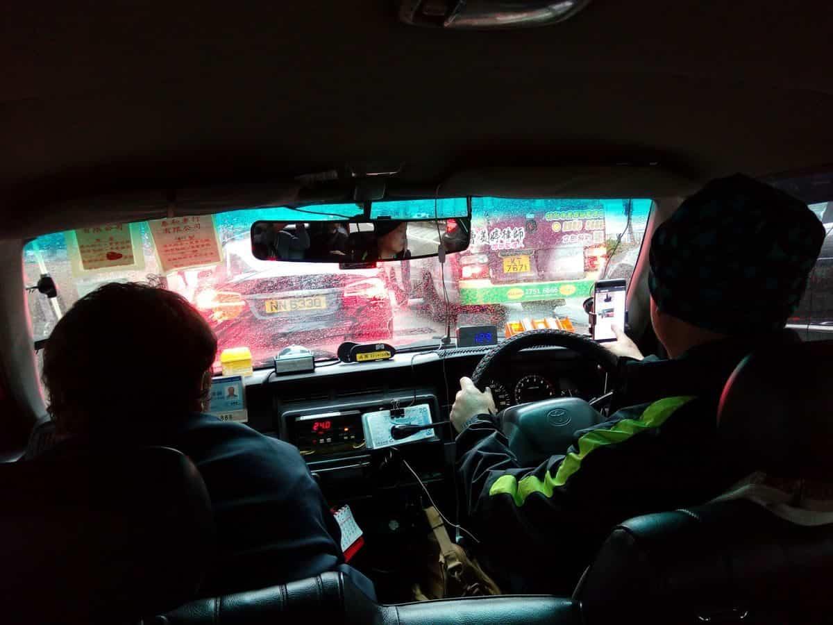 Protivný taxikář
