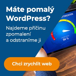 zrychlení wordpress